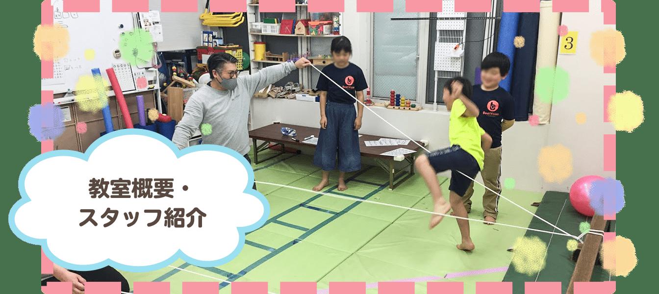 教室概要・スタッフ紹介